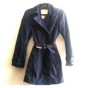 Esprit Navy blue trench coat